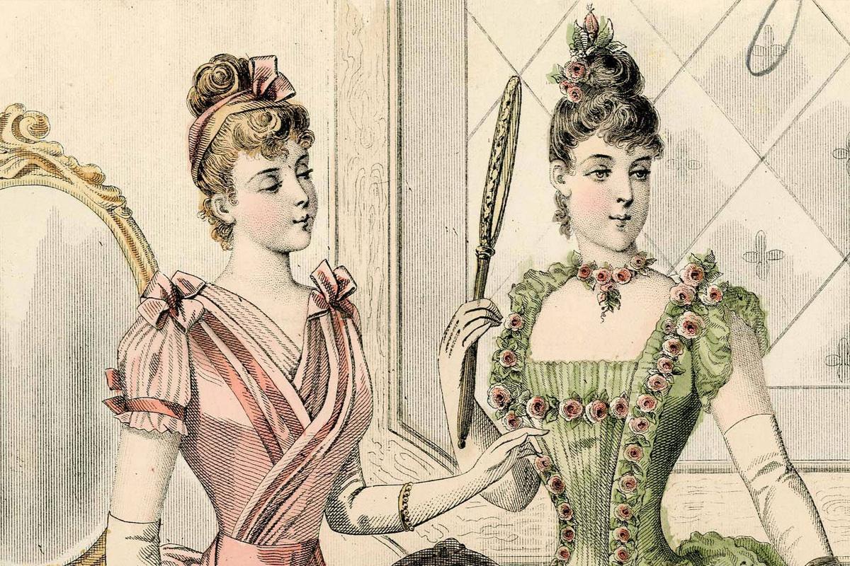 1889. Fashion plates