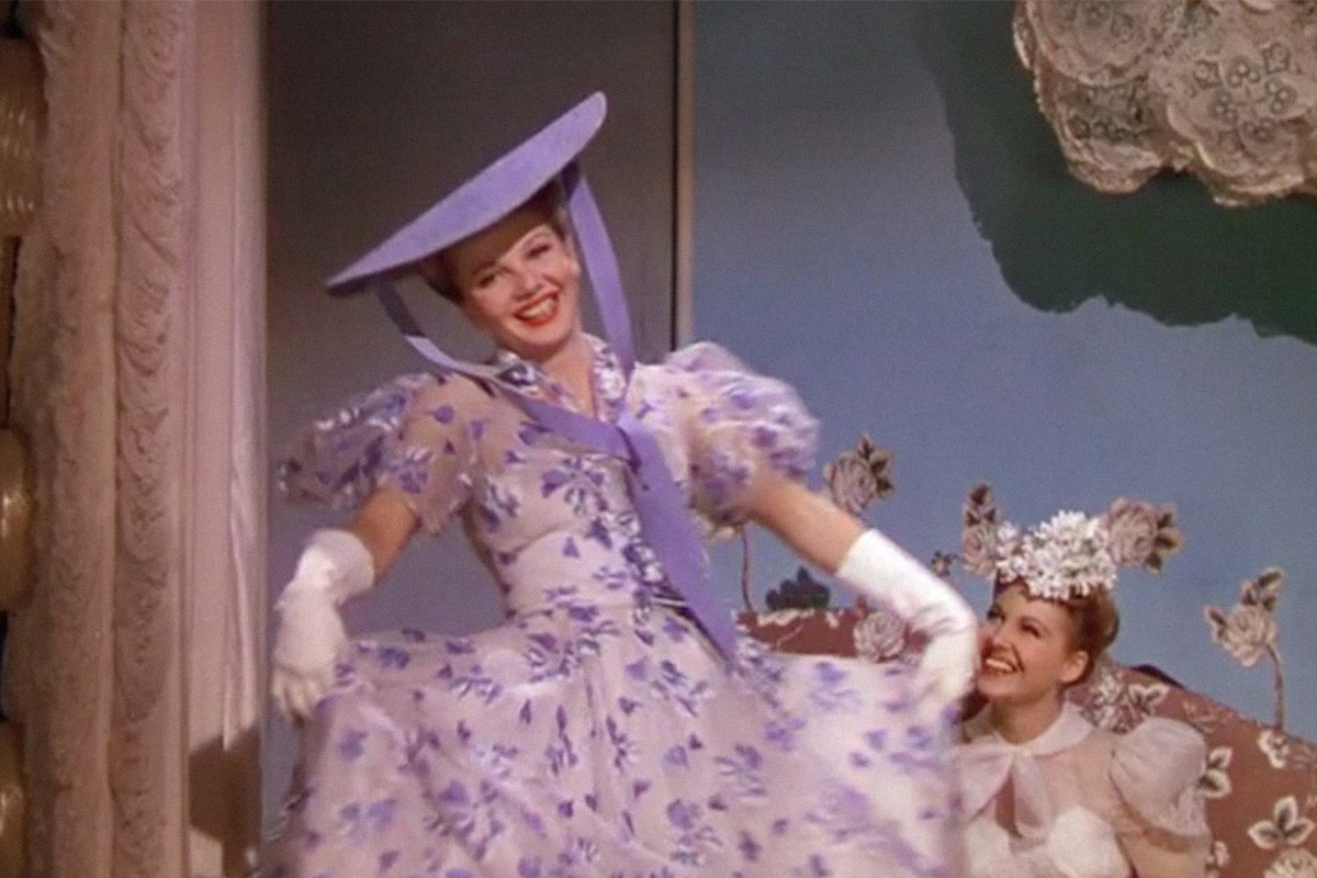 "Colored Fashion Show. ""The Women"" (1939)"