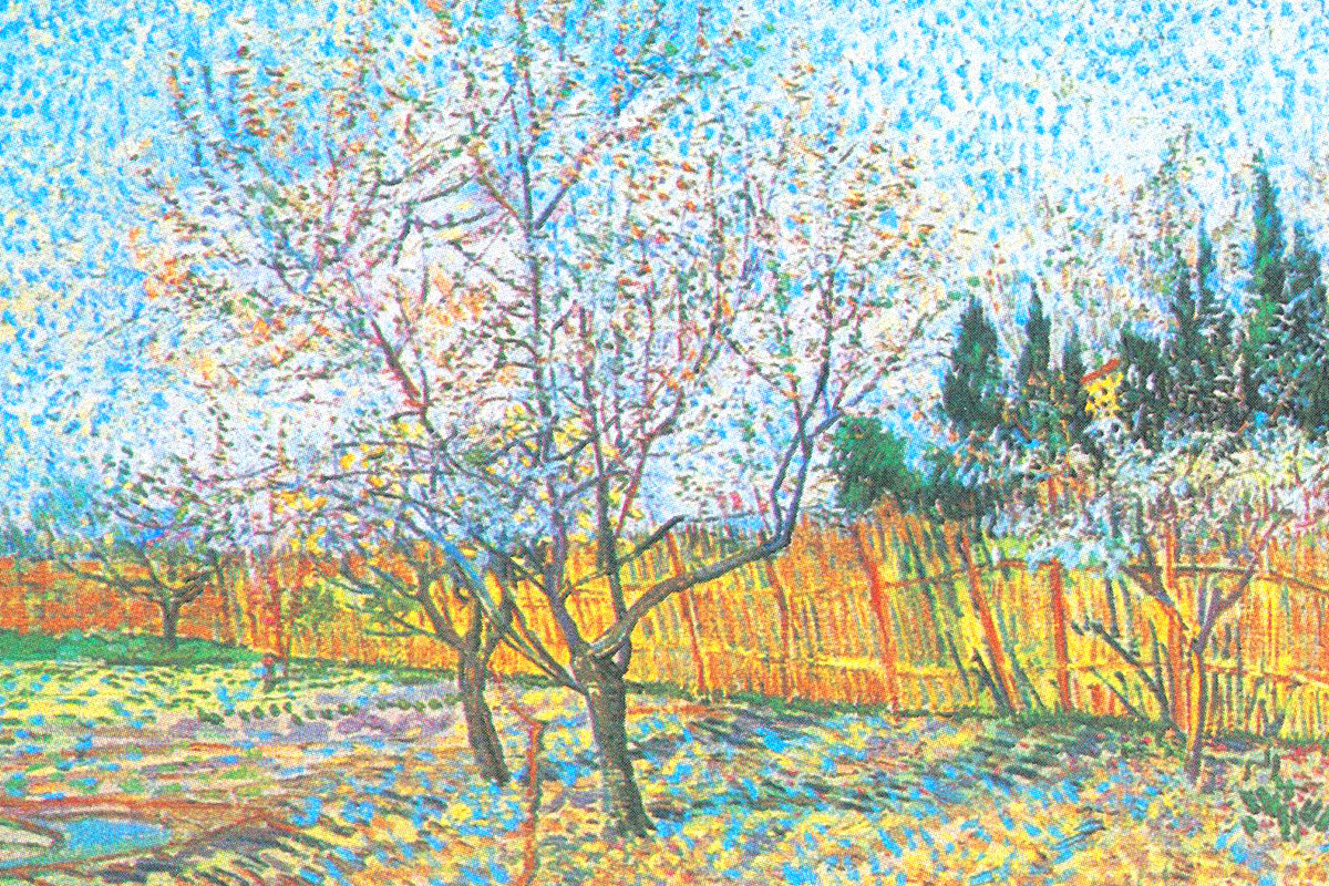 Flowering Orchards by Vincent van Gogh
