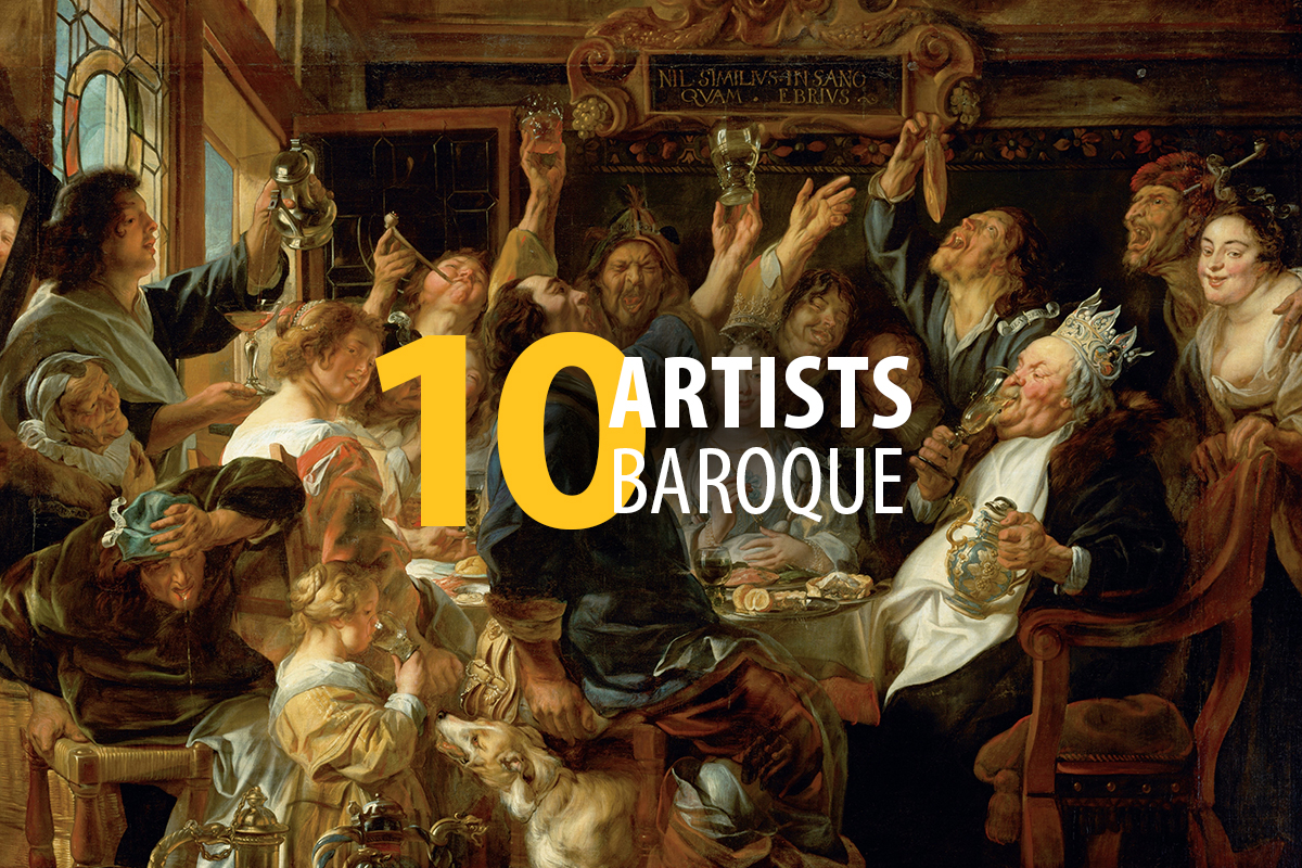Baroque painting. 10 artists.