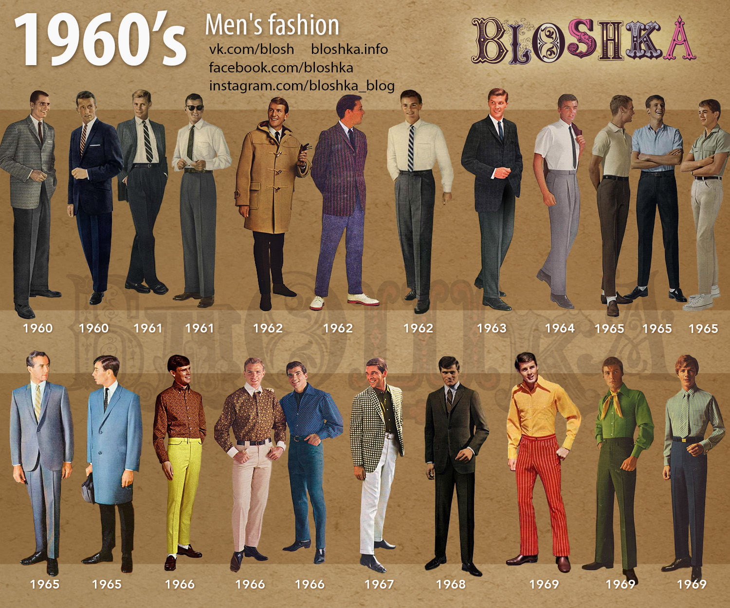 1960 S Of Fashion Bloshka