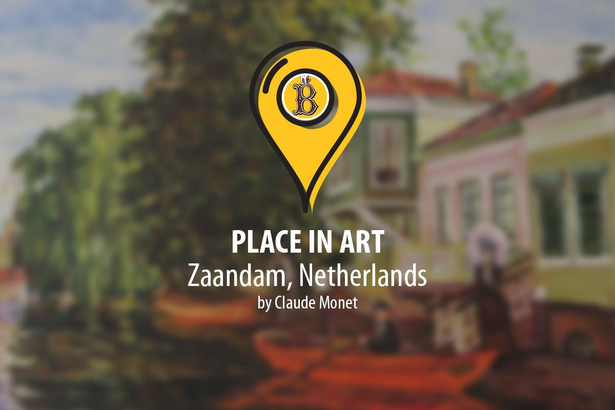 Place in art. Zaandam