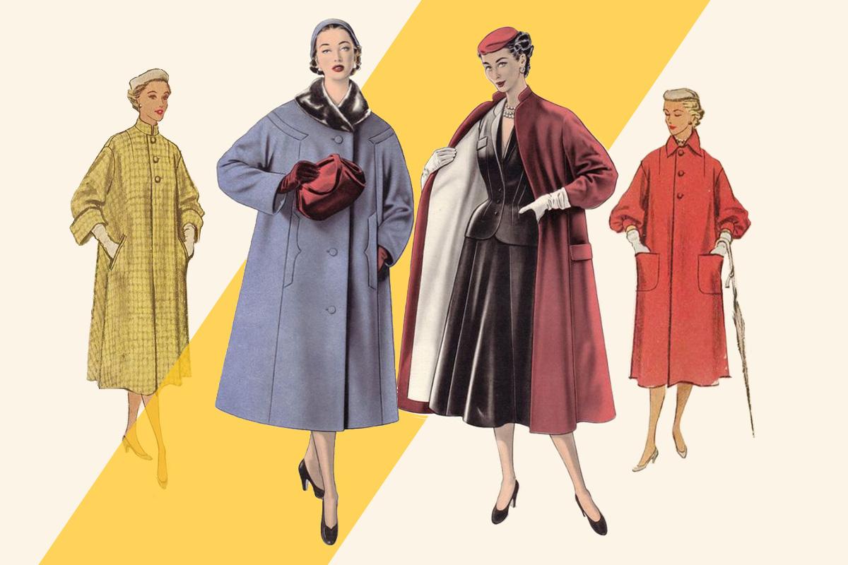 Coats 1950's