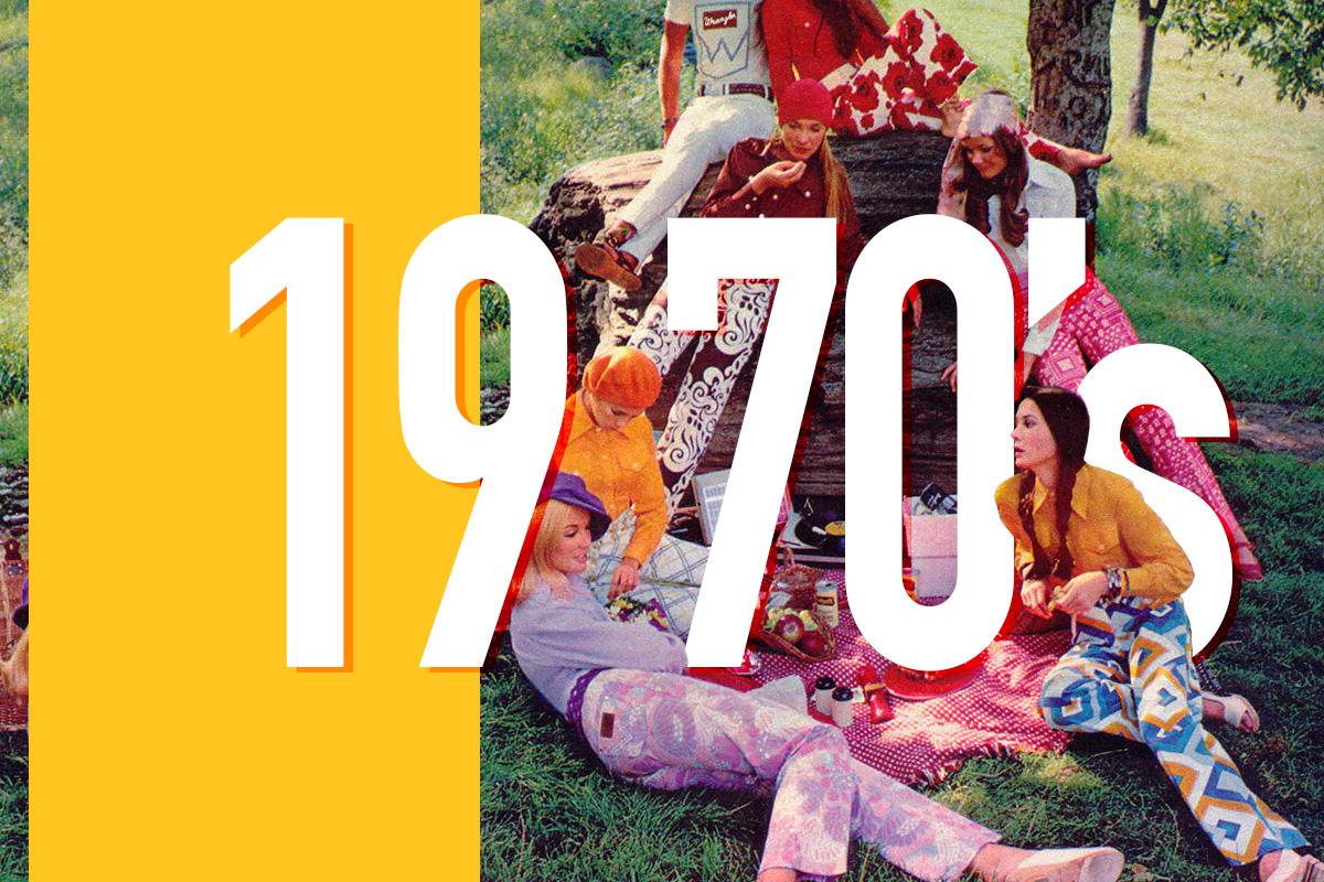 1970's of Fashion